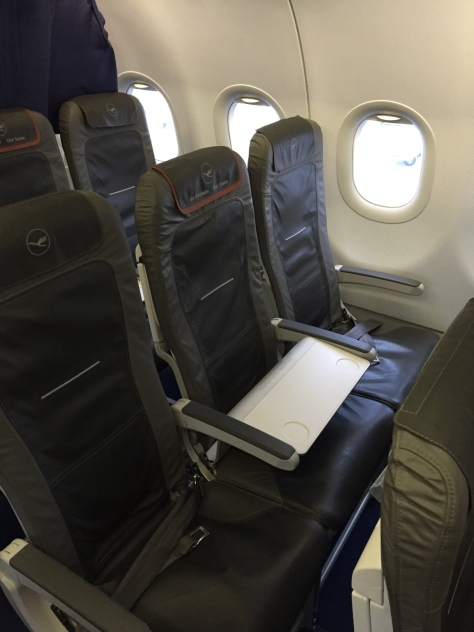 Lufthansa A321 - 200 Business Class