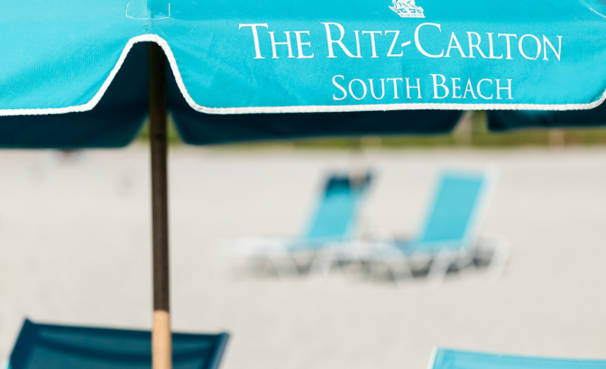 Ritz Carlton – South Beach – 5 stars  …great location..